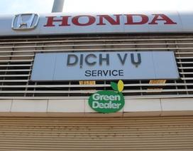 Đại lý Ô tô Honda đạt chuẩn Đại lý Xanh trên toàn hệ thống