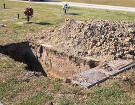 Lạ lùng cuộc thi đào mồ... đẹp