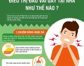 Inforgraphic: Điều trị đau vai gáy tại nhà như thế nào?