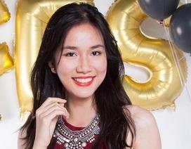 Hoa khôi Áo dài nữ sinh 2015 đạt 25,75 điểm thi THPTQG