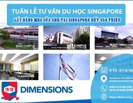 Lấy bằng thạc sĩ của Anh tại Singapore chỉ với 450 triệu đồng