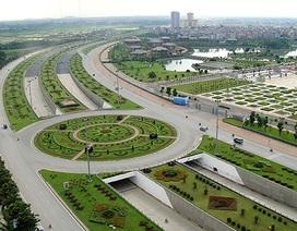 Hà Nội: Mỗi năm chi 53 tỷ đồng để... cắt cỏ ở Đại lộ Thăng Long