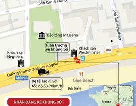 [Infographics] Cập nhật mới nhất về kẻ tấn công khủng bố ở Nice