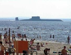 Đòn đánh hiểm dưới băng Bắc Cực của tàu ngầm Nga
