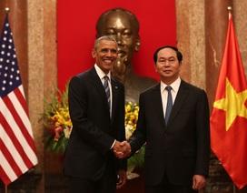 Tổng thống Mỹ hội đàm cùng Chủ tịch nước Trần Đại Quang