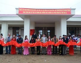 Náo nức ngày khánh thành công trình phòng học Dân trí thứ 5 tại Chiềng Sơ, Sơn La