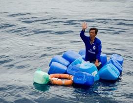 Tàu bị phá nước, một thuyền viên trôi dạt 3 ngày trên biển