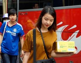 Tàu hoả, xe khách kín người trở lại Thủ đô sau kỳ nghỉ lễ