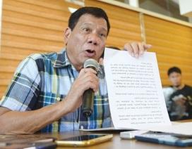 """Tân tổng thống Philippines """"không xuống nước"""" trong vấn đề biển Đông"""
