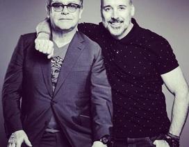 Elton John kỷ niệm 10 năm gắn bó với bạn đời đồng tính