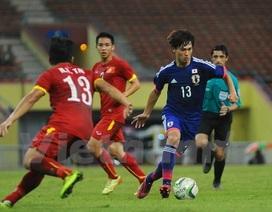 U23 Việt Nam thua nhẹ U23 Nhật Bản