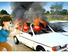 Quả cầu chữa cháy - Giải pháp hiệu quả cho xe hơi