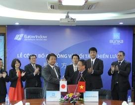 Bunka Shutter (Nhật Bản) trở thành cổ đông và đối tác chiến lược của Eurowindow