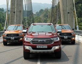 Khám phá Tây Trường Sơn cùng Ford Everest