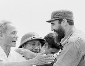 Hình ảnh Fidel Castro bên Việt Nam những năm tháng chiến tranh