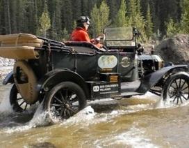 Đi vòng quanh thế giới trên chiếc xe 100 năm tuổi