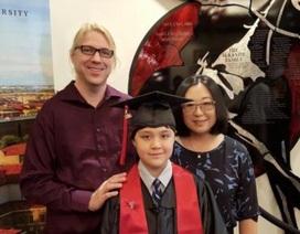 Cậu bé 12 tuổi trở thành sinh viên đại học trẻ tuổi nhất