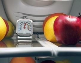 Nên đặt nhiệt độ tủ lạnh bao nhiêu để không gây hại thức ăn?
