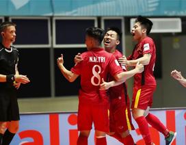 Minh Trí lập hattrick, futsal Việt Nam có chiến thắng lịch sử tại World Cup