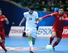 Đội tuyển futsal Việt Nam 1-13 Iran: Cơn ác mộng