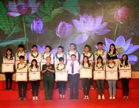 Quỹ Khuyến học Khuyến tài Phạm Văn Trà trao thưởng hơn 1,6 tỷ đồng