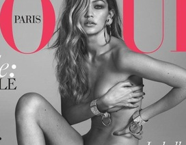 Siêu mẫu Mỹ đẹp khó cưỡng trên tạp chí Vogue