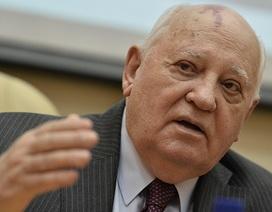 Ông Gorbachev cảnh báo thế giới lâm nguy vì căng thẳng Nga - Mỹ ở Syria