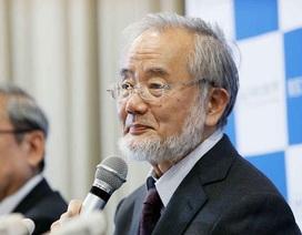 """Nhà khoa học Nhật Bản giành giải Nobel Y học cho nghiên cứu """"tự thực"""" ở tế bào"""