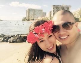 Diễn viên Hải Anh đưa vợ sang Mỹ đón Valentine
