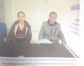 Vụ một thửa đất bán cho nhiều người: Công an TP Hà Nội kết luận cùng một chữ ký