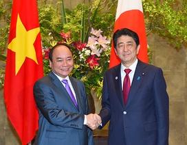Hai Thủ tướng Việt Nam, Nhật Bản hội đàm