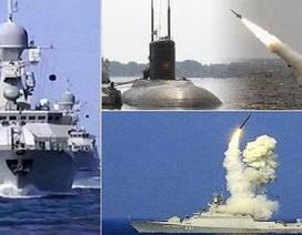 Hạm đội Biển Đen thị uy dàn chiến hạm tên lửa Kalibr
