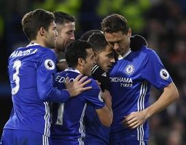 """Chelsea thắng giòn giã dù thiếu vắng """"quái thú"""" Costa"""