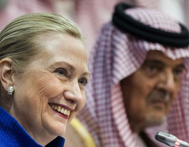 Ả rập Xê út đổ tiền cho bà Clinton tranh cử