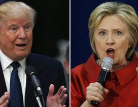 Ông Trump và bà Clinton vận động tranh cử xuyên đêm vào giờ chót
