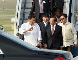 Tổng thống Philippines đến Hà Nội, bắt đầu chuyến công du Việt Nam