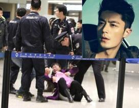 Mỹ nam xứ Đài choáng vì fan cuồng gào khóc ở sân bay