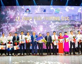 SV Vũ Mạnh Trung Hiếu - ĐH Xây dựng xuất sắc giành phần thưởng 120 triệu đồng