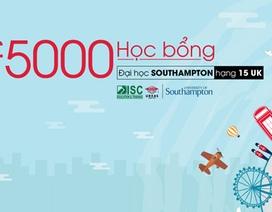 Học bổng 5000 bảng đại học Southampton