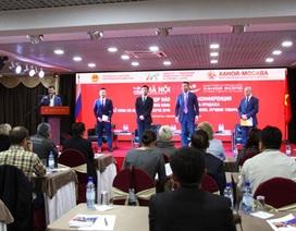 Tuần lễ hàng Hà Nội tại Mátxcơva 2016: 'Mong muốn hợp tác chặt chẽ giữa cộng đồng doanh nghiệp'
