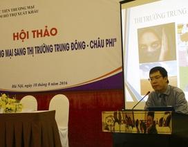 Lối đi nào cho doanh nghiệp Việt vào thị trường Trung Đông – Châu Phi?
