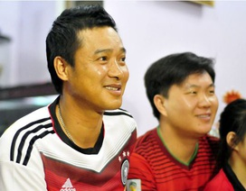 Cựu danh thủ Hồng Sơn với tình yêu dành cho đội tuyển Đức
