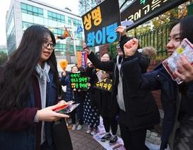 Hàn Quốc cấm máy bay để phục vụ thi đại học