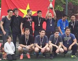 Giải bóng đá SVHU League 4- Kết nối tình bạn Việt trên đất Hungary