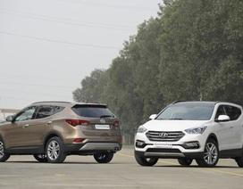 Ưu đãi 30 triệu khi mua xe Hyundai SantaFe, Tucson và Elantra 2016