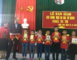 Đại sứ quán Israel trợ giúp sửa chữa trường học tại Quảng Bình