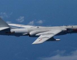 Trung Quốc lại đưa máy bay ném bom đến gần đảo Nhật Bản