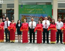 Bình Định: Khánh thành và bàn giao Trường tiểu học số 1 Cát Tài