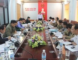 Phó Chủ tịch UBND tỉnh Vũ Văn Diện kiểm tra tiến độ dự án đường cao tốc Hạ Long- Vân Đồn