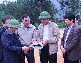 Phó Chủ tịch UBND tỉnh Vũ Văn Diện kiểm tra công tác XDCB tại huyện Ba Chẽ